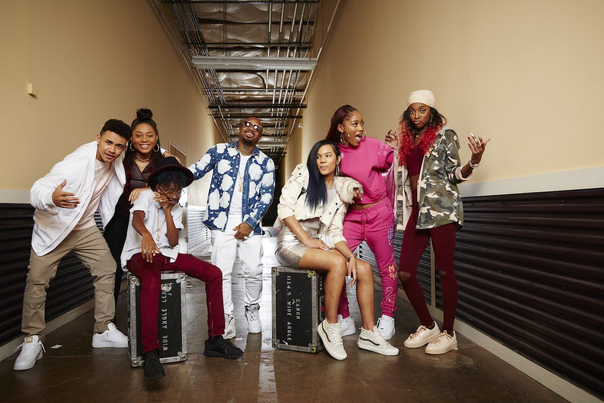 Nothing better than discovering new talent ????  watch our series #TheRapGame TONIGHT on @lifetimetv! https://t.co/SWyLXqC6SW