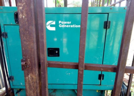 Police recover Tharaka Nithi county generator at former governor's residence