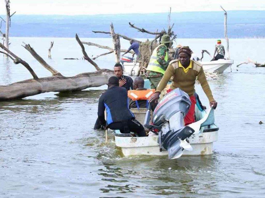 2 more doors, headlamp found in L Nakuru copter crash search
