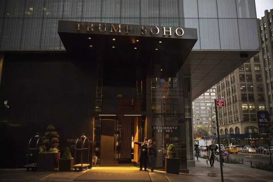 The rates at Trump hotels are plummeting, and we think we know why