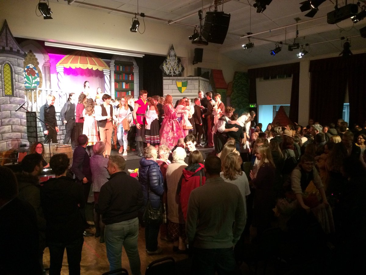 test Twitter Media - Ecstatic scenes at the end of the most amazing and uplifting performance of Beauty and the Beast at TWBS and WGS. Quite breathtaking, ridiculously talented and very emotional. Tears and cheers all round. Well done. https://t.co/k5P0dDfckN