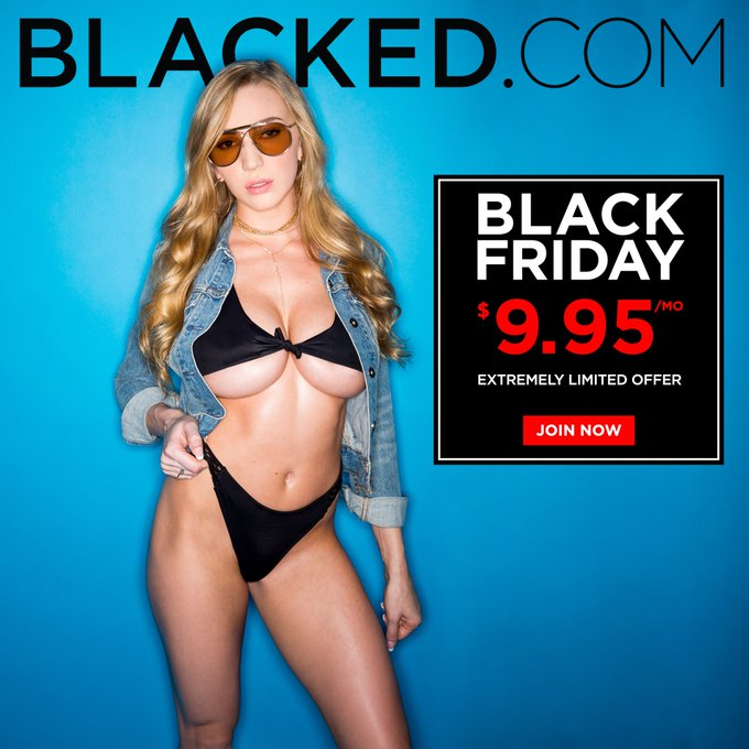 Nobody does Black Friday better than @Blacked_com 😈 take advantage of this special rate for a limited