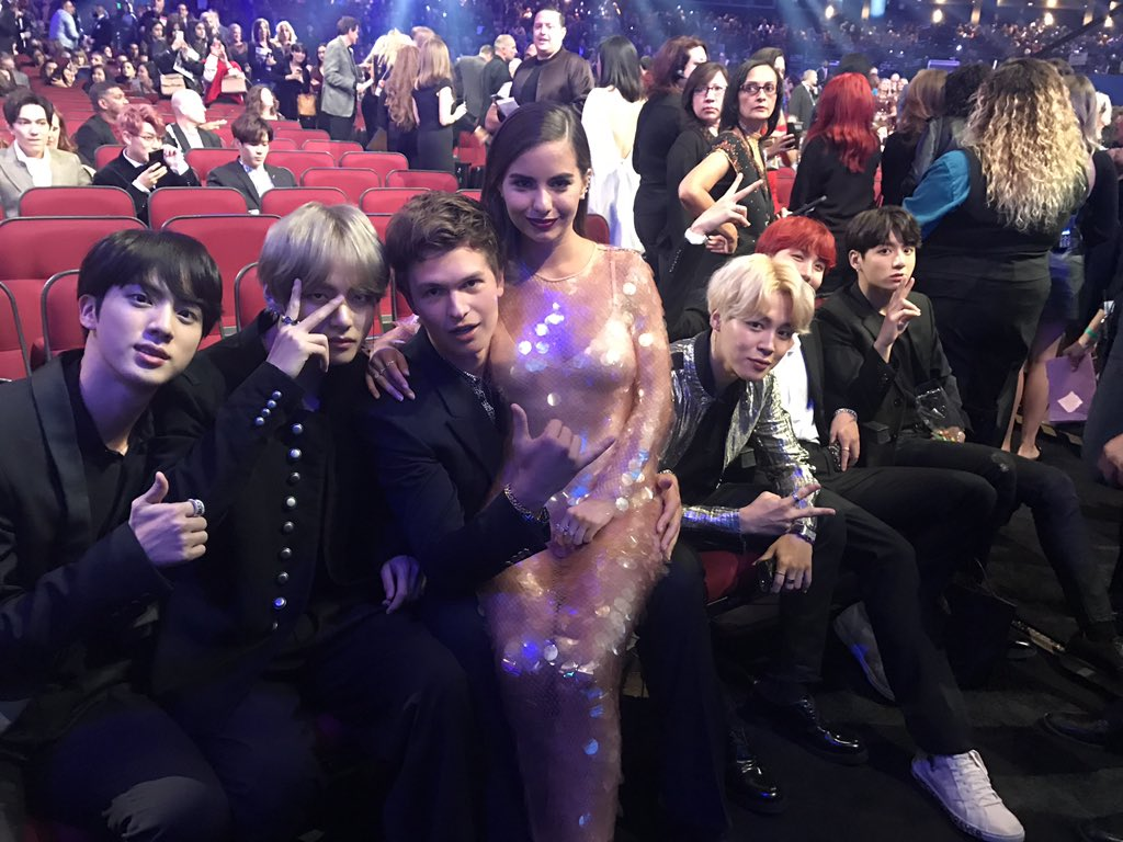 �� @AnselElgort x @BTS_twt is both the friendship we need and the friendship we deserve. https://t.co/iSsPBqY5y1