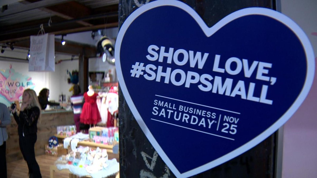 Store Owners Asking People To Shop Local On Small Business Saturday