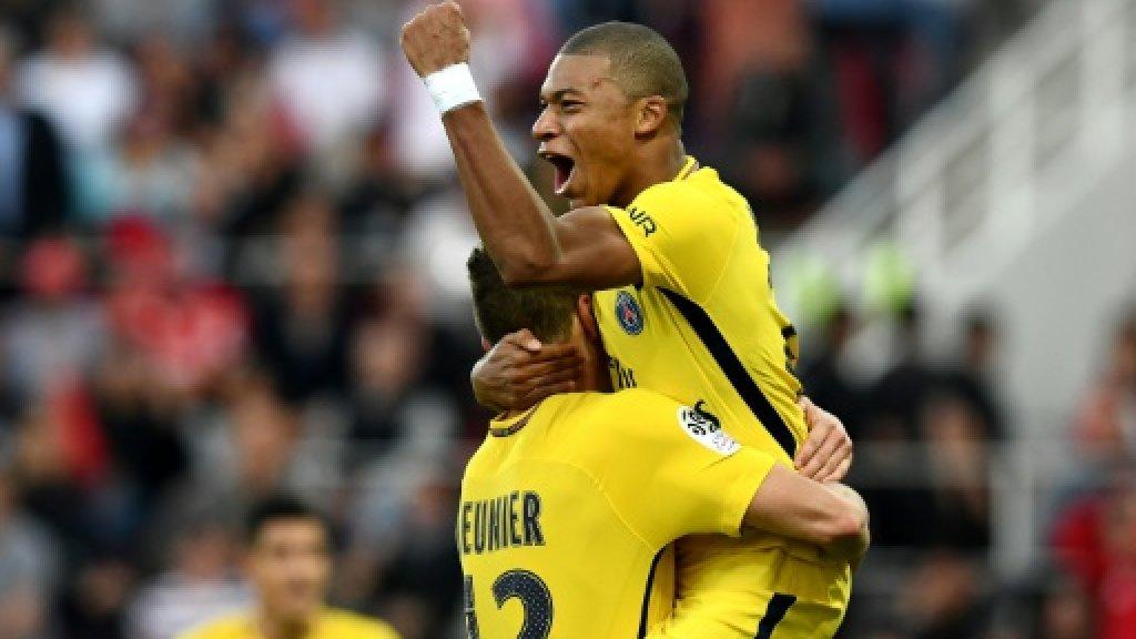 PSG coach Emery happy with Mbappe ahead of Monaco reunion