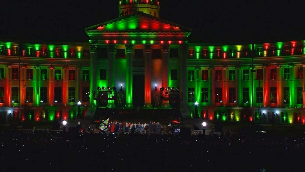 Downtown Denver's Light of Lights ushers in the holiday season