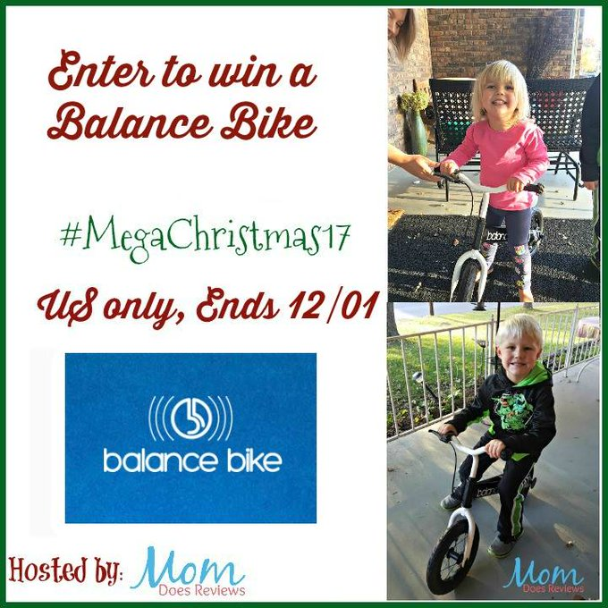 Balance Bike Giveaway-1-US-Ends 12/1