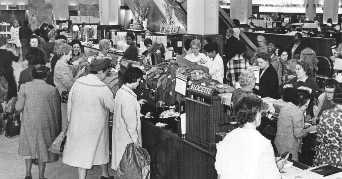 RetroIndy: Hoosier Bargain Days lured shoppers back to downtown Indianapolis