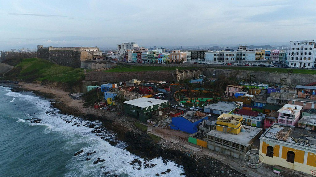 """Despacito"" made this neighborhood famous, but Hurricane Maria ravaged it"