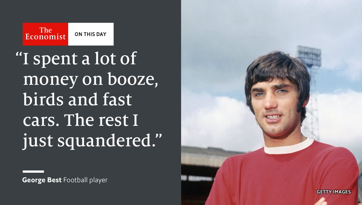 George Best, football's flawed hero, died OnThisDay 2005