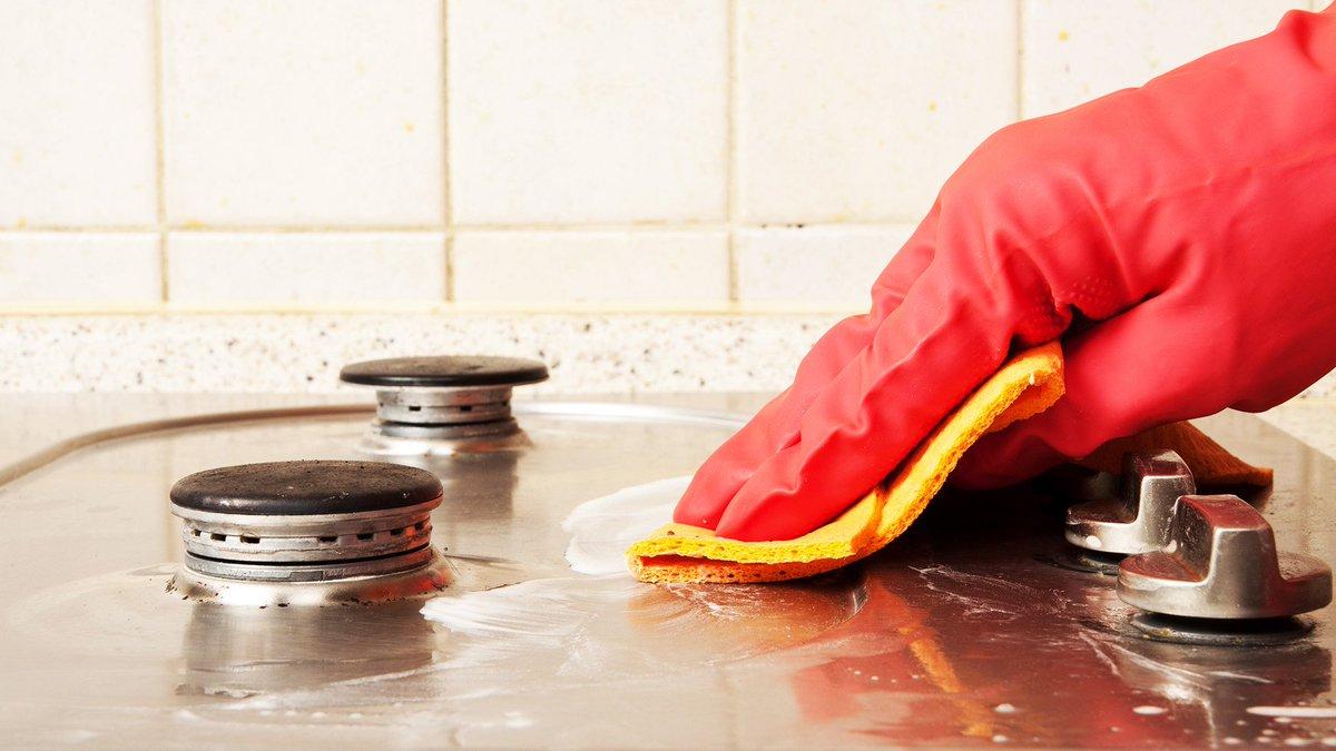 Как почистить газовую плиту в домашних условиях - О чистоте 9