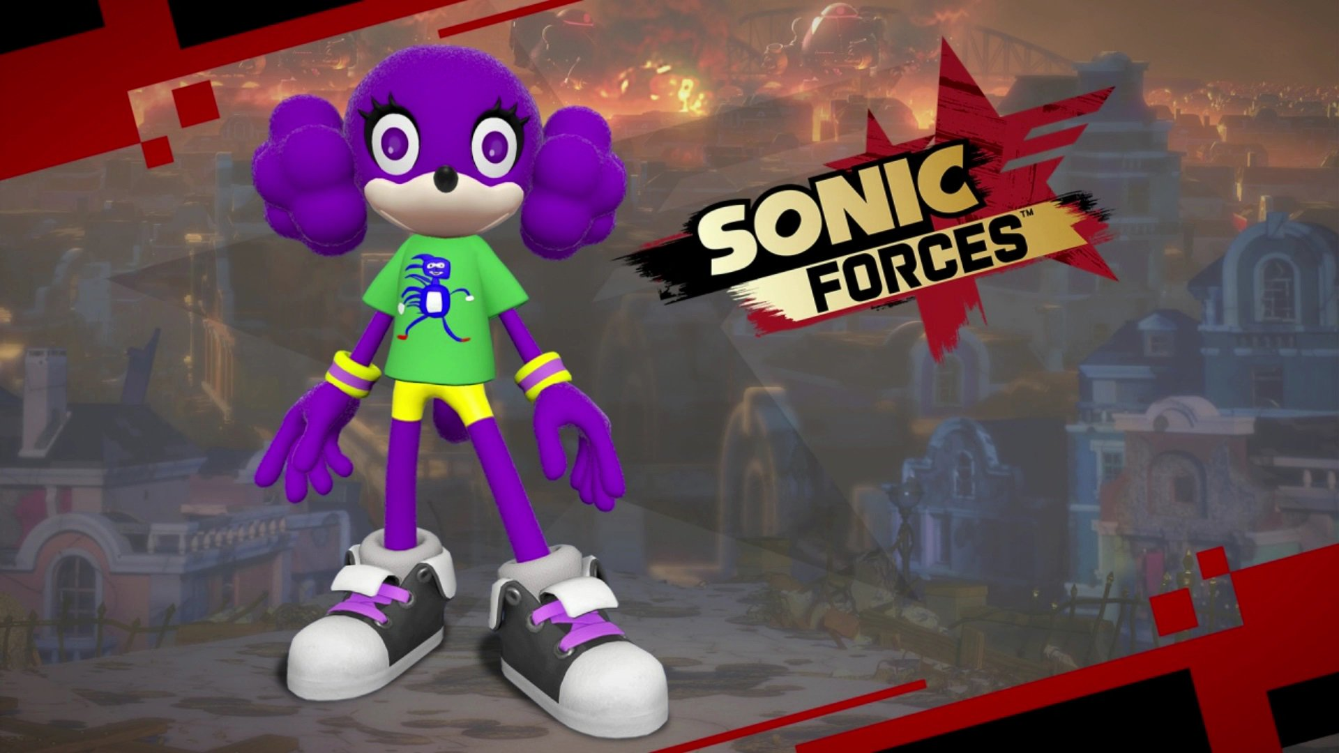 Get ready to go fst. The 'Sanic T-shirt' is now available for free download in Sonic Forces! (Yes, it's real.) https://t.co/OzIXyVwgCf