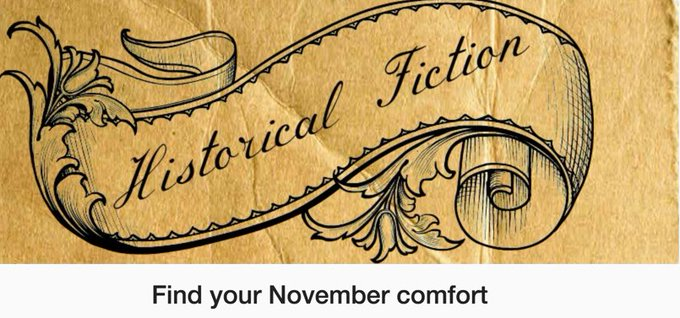 November's Historical Fiction