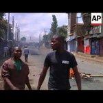 Unrest in Kibera after Kenyatta election victory upheld