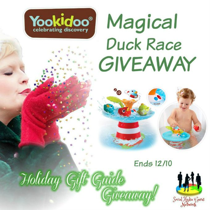 The Yookidoo Musical Duck Race Giveaway