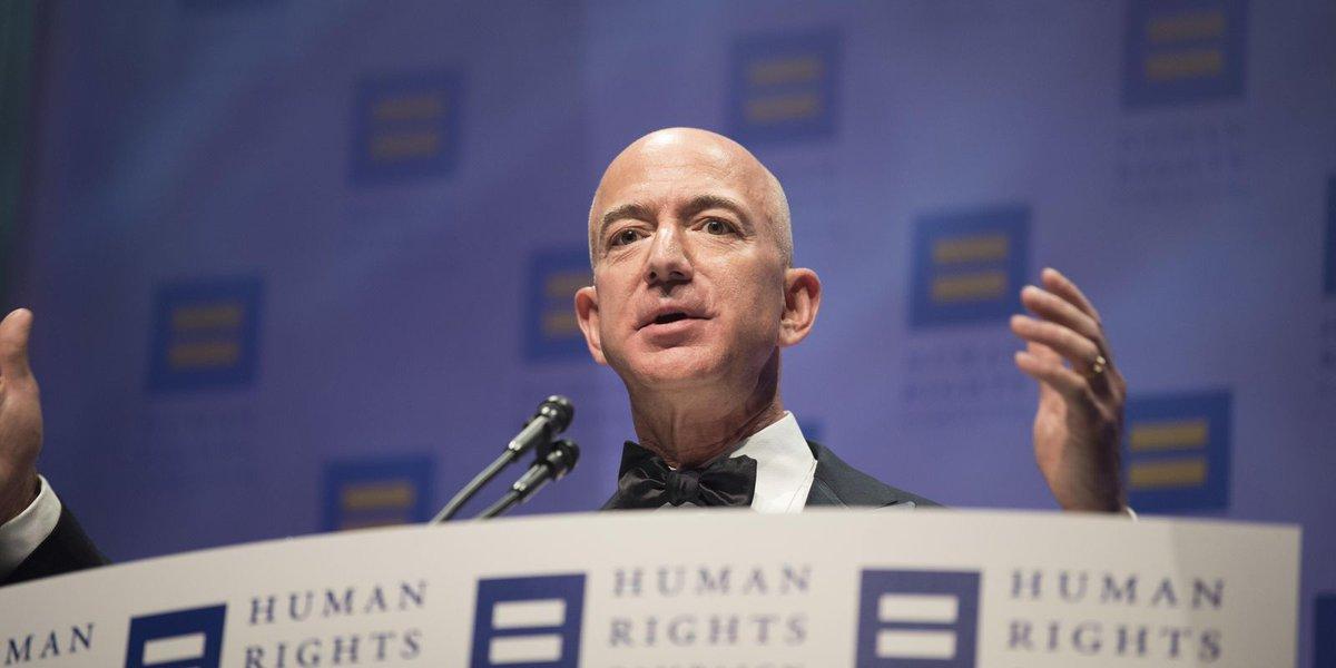 Holiday shopping makes the season merry for Jeff Bezos