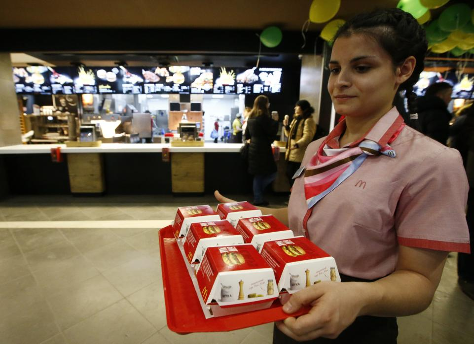 "Russia may label McDonald's a ""foreign agent"" hell-bent on damaging people's health"