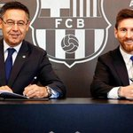 Lionel Messi: Barcelona forward signs new deal
