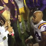 A win, then an 'aww': Watch as LSU player proposes to girlfriend after Texas A&M game