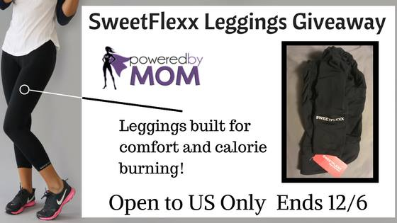 SweetFlexx Leggings Giveaway Ends 12/06
