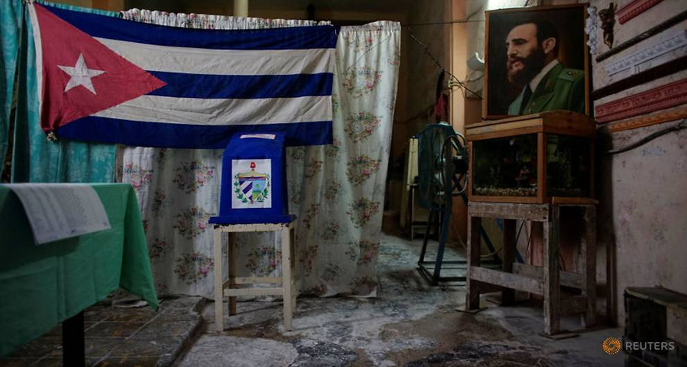 Cuba holds municipal elections on road to Castro era's end