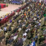 UhuRuto preach unity, say swearing-in a celebration of diversity