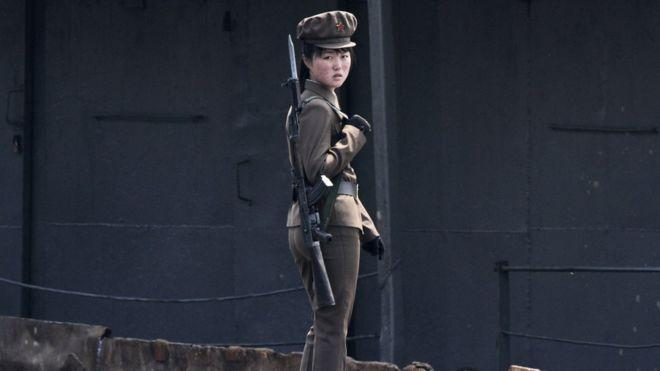 Female soldiers in North Korea are under so much stress they stop getting their periods