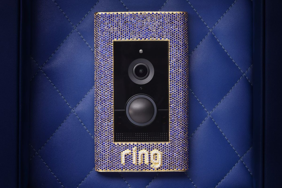RT @SnazzyQ: Ring has a new $100,000 doorbell that will record a video of someone stealing your $100,000 doorbell. https://t.co/q9wmxQNZr0