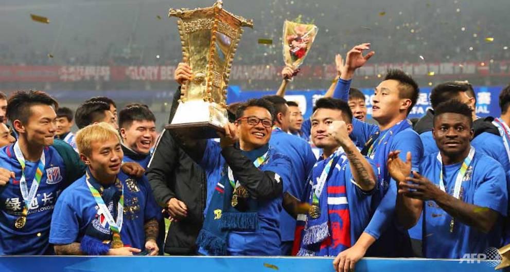 Martins hits cracker as Shanghai Shenhua win China FA Cup