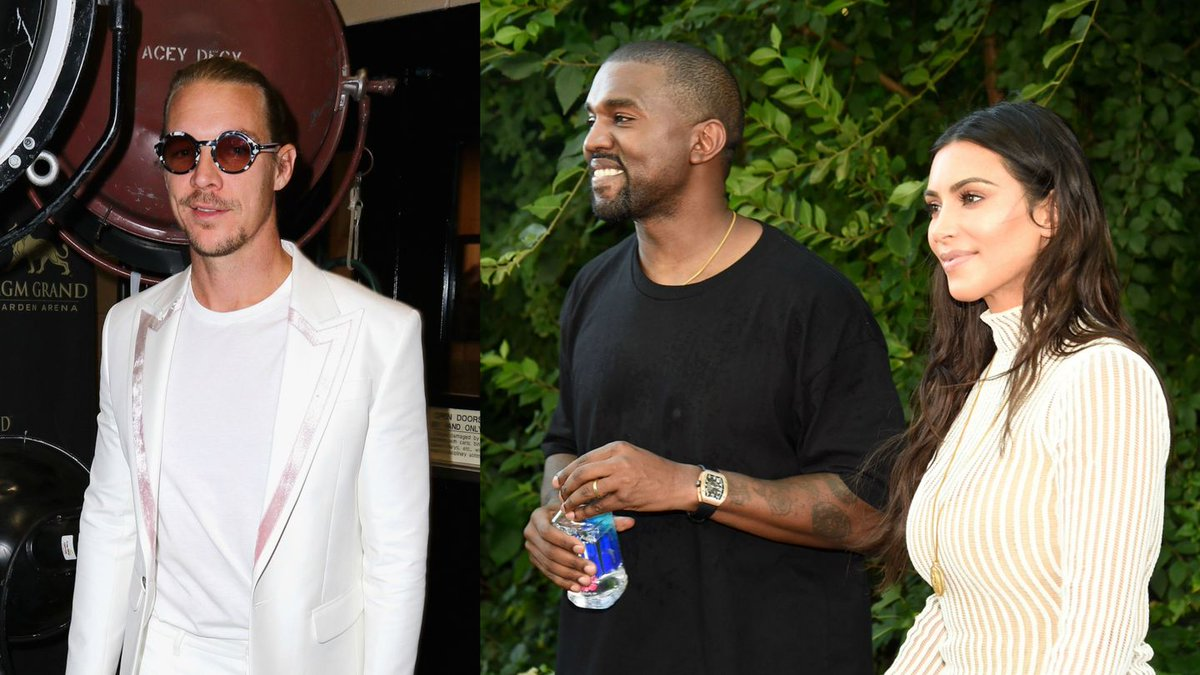 Kanye West Knew He'd Marry Kim Kardashian Way Before He Proposed, According To Diplo