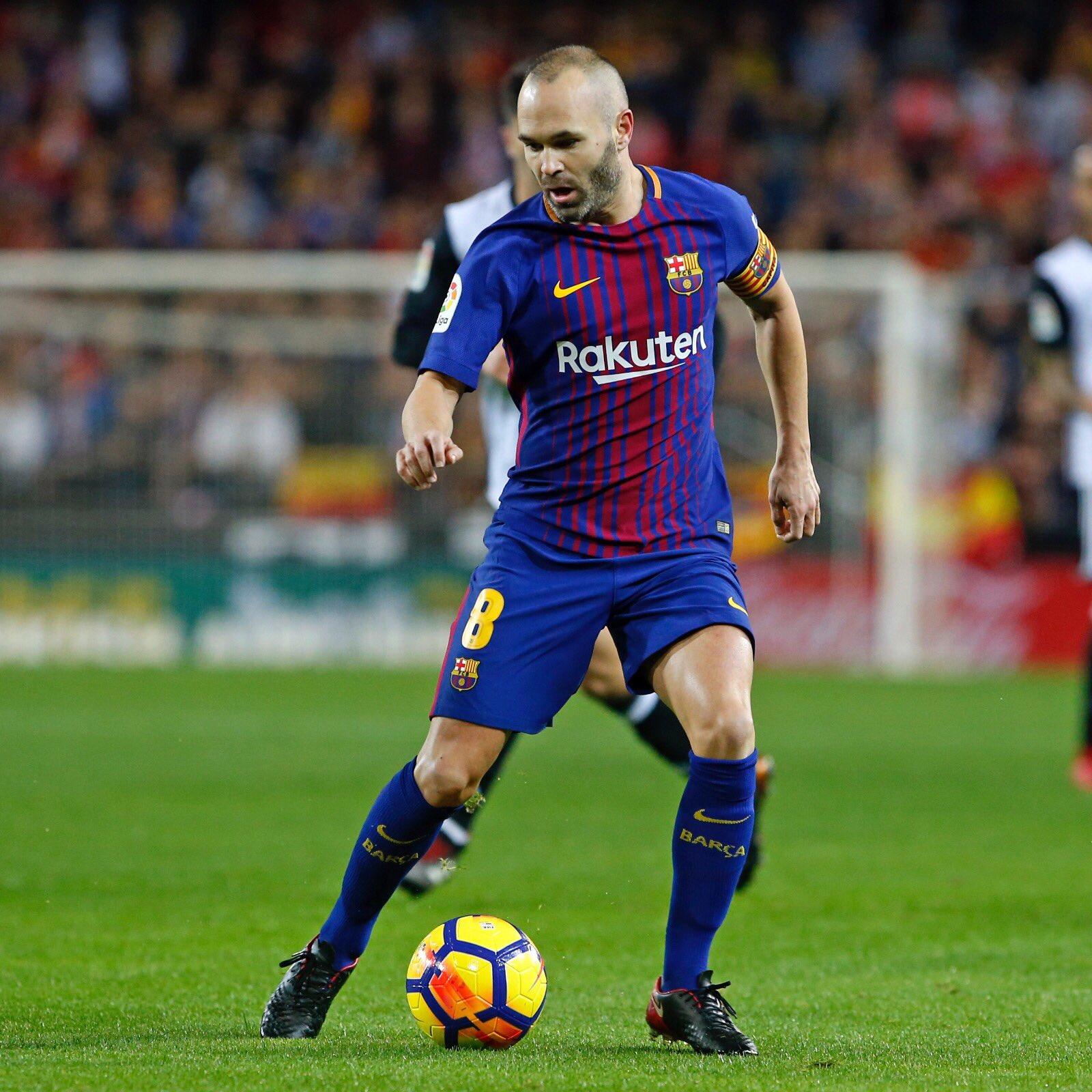 Seguimos sumando, hoy en un campo muy difícil! Força Barça!!������������ https://t.co/GPJJ0NhQu5