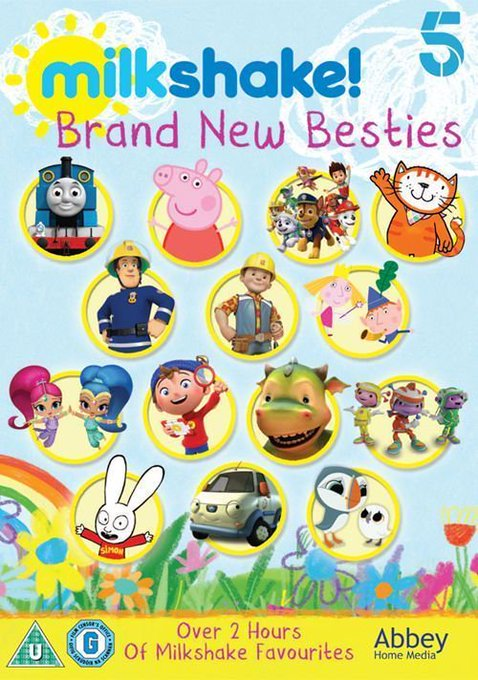 Win Channel 5's Milkshake Brand New Besties DVD Collection