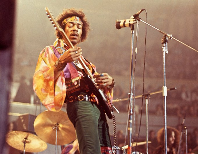 Happy Birthday to the most important and influential electric guitar player of all time, Jimi Hendrix!