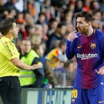 Messi denied against Valencia in goal-line controversy