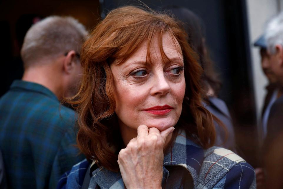 "Susan Sarandon says Hillary Clinton would have been a ""very dangerous"" president"