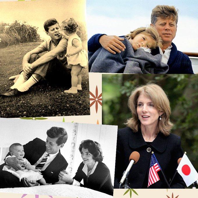 Happy 60th birthday to Caroline Kennedy!