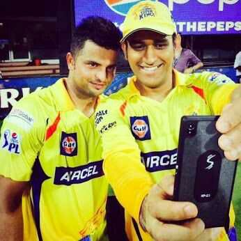 Happy Birthday Suresh Raina .  Dhoni - Raina , Brothers From Another Mother