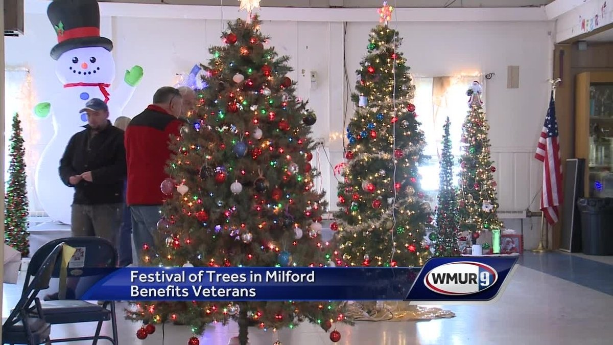 Festival of Trees held in Milford to benefit veterans
