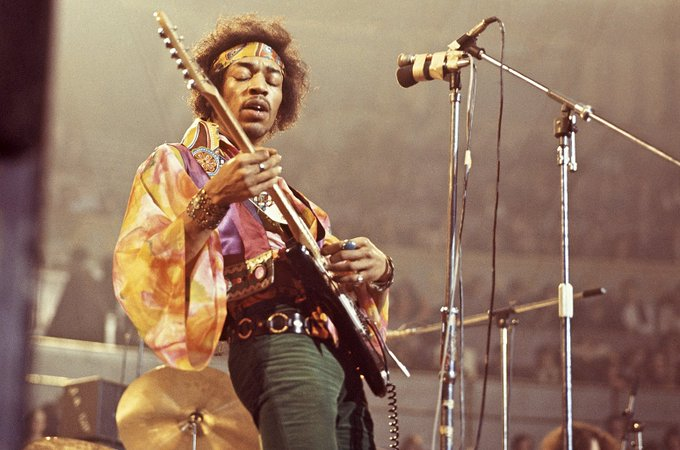 Happy Birthday to Jimi Hendrix who would have turned 75 today!