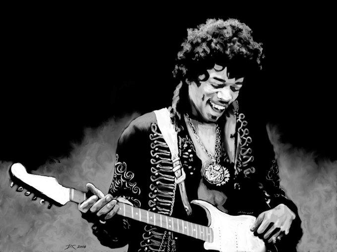 Happy Birthday.....Jimi Hendrix.....The God of Guitar.