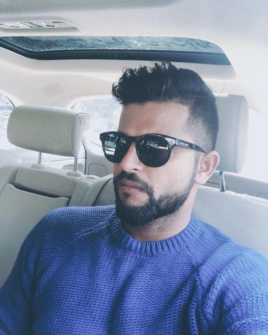 my ni more happy birthday to you Suresh raina sir