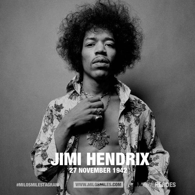 Happy Birthday Jimi Hendrix (27.11.42)