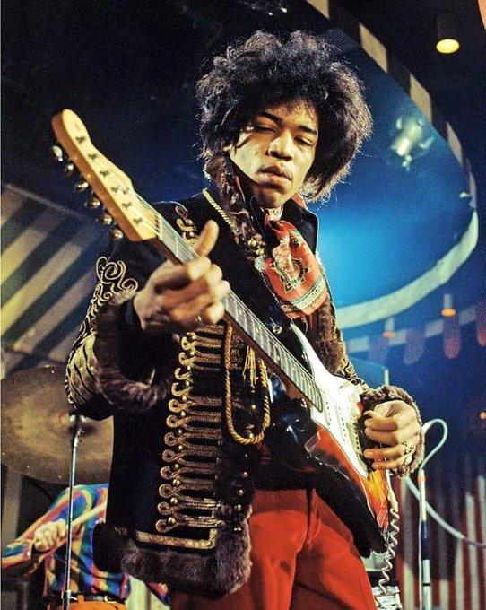 Tribute...Happy Birthday! guitarist Jimi Hendrix (Rip)