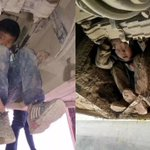 Boys cling to underside of bus for three hours in China to try to see mum and dad