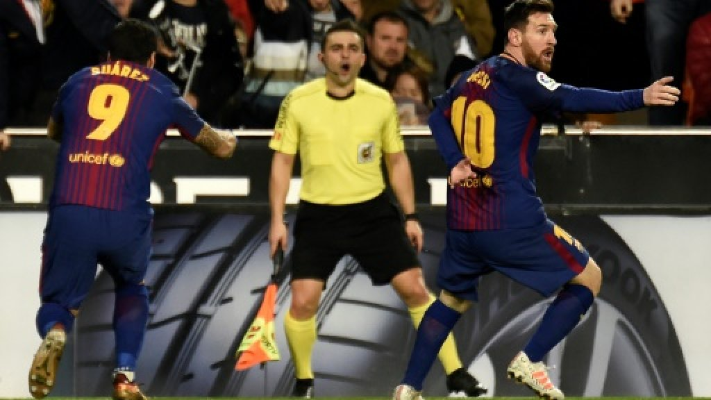 Messi denied by La Liga's lack of technology