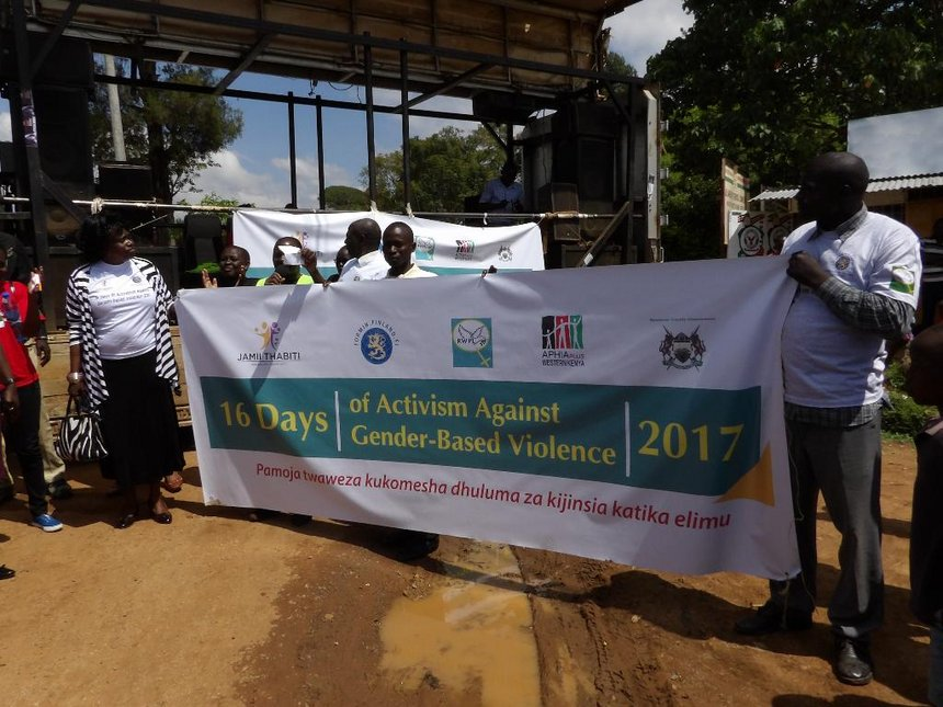 GBV in Bungoma: Activists start campaigns to mark 16 days of activism