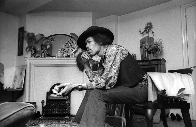 Jimi Hendrix would have been 75 today. Happy birthday Jimi!  : Barrie Wentzell