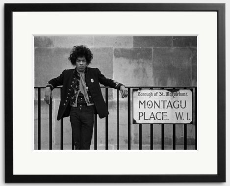 Happy Birthday Jimi Hendrix - he would\ve been 75 today. Photographed by 1967.