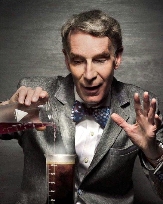 "Happy Birthday, Bill Nye, \""The Science Guy\"" born November 27th, 1955, in Washington, D.C."
