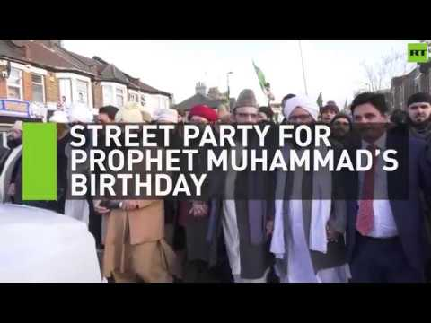 Europe's biggest party for Prophet Muhammad's birthday